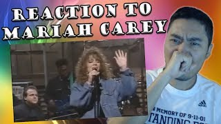 Mariah Carey Live on SNL 1990 - Vision of Love (REACTION)