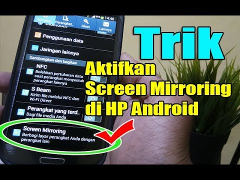 Aktifkan SCREEN MIRRORING Di Semua Type HP SAMSUNG Tanpa Aplikasi - Jika kalian penasaran tutorialny.