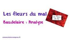 Les fleurs du mal, Baudelaire : analyse