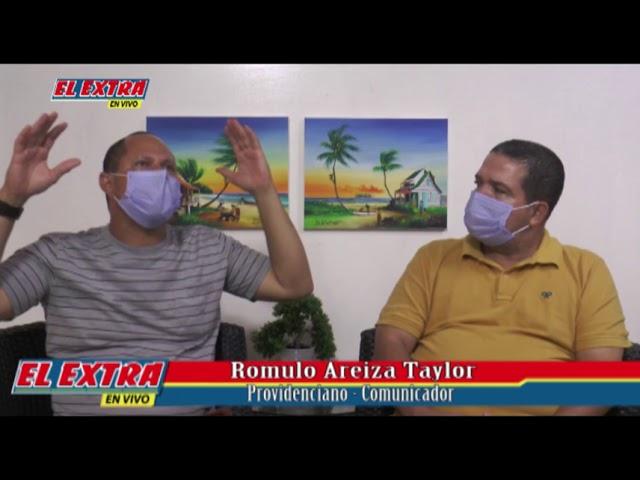 Directo con Edgar Villarreal, Romulo Areiza Taylor Comunicador y ex funcionario publico en la isla.