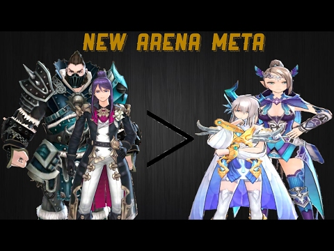 King's Raid- Arena Meta Discussion