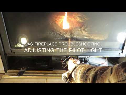 Obadiah's: Gas Fireplace Troubleshooting - Adjusting The Pilot Light