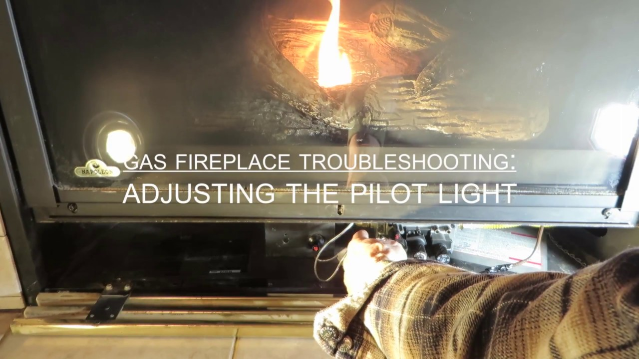 Obadiah S Gas Fireplace Troubleshooting Adjusting The Pilot Light Youtube