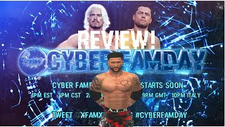 #CyberFaMday REVIEW! @xFaMxHD
