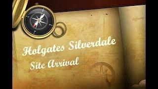 Lancashire - Holgates Silverdale Caravan Park Site Arrival