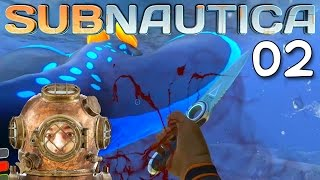 "Subnautica Gameplay Ep 02 - ""Crocodile Dundee Knife!!!"" 1080p PC"