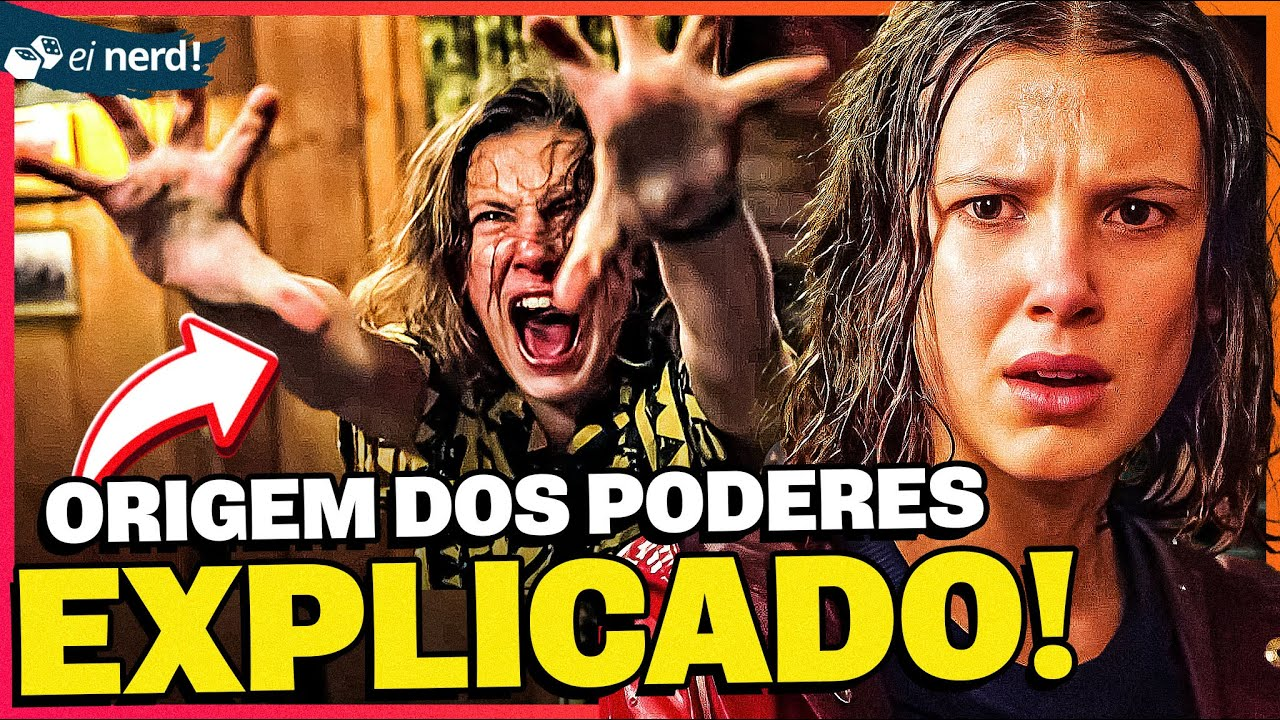 POR QUE A ONZE TEM SUPERPODERES - Stranger Things