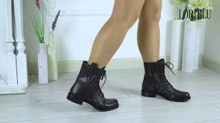 Ботинки женские кожаные Loriblu 19FW189 | Обзор обуви