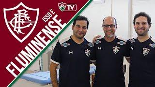 FluTV - Dia do Fisioterapeuta! Conheça como funciona o dia a dia da fisioterapia do Fluminense