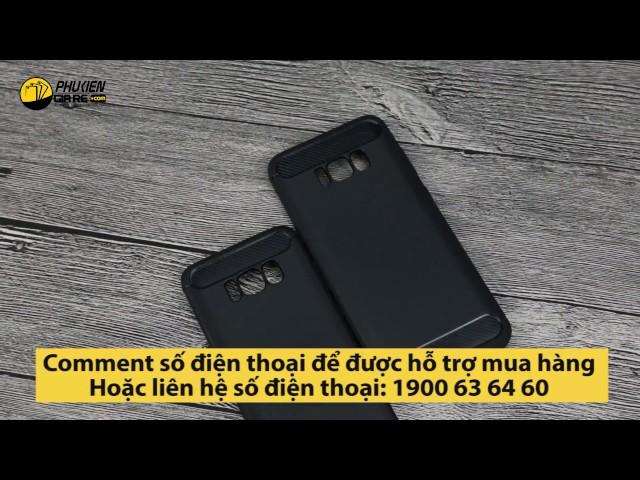 Ốp lưng Samsung Galaxy S8 nhựa mềm chống sốc Likgus