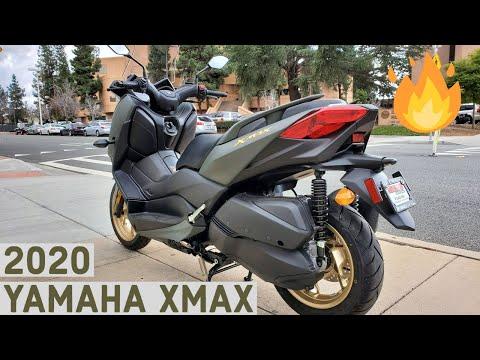 2020 YAMAHA XMAX a premium scooter