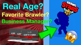Unlocking Rosa! - Massive Qu0026A! - 5K Giveaway! - Real Age? Favorite Brawler? Manager? - Brawl Stars