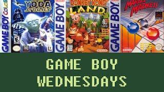 Game Boy Wednesdays #14 - Star Wars: Yoda Stories / Donkey Kong Land (#2) / Marble Madness