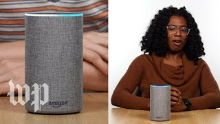 We tried whispering to an Amazon Echo. It whispered back.