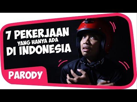7 PEKERJAAN UNIK YG HANYA ADA DI INDONESIA Wkwkwkwk