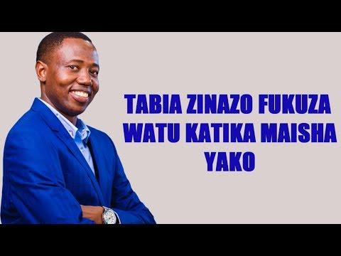 Tabia Nne (4) Zinazofukuza Watu Kwenye Maisha Yako