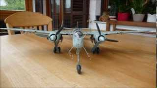"""Revell 1/32 scale Heinkel He 219 A-7 """"Uhu"""" - A Building Review"""