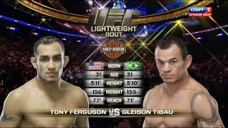 Tony Ferguson vs Gleison Tibau [UFC 184 ] (28 February 2015) [HD] russian laguage
