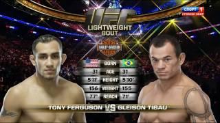 Tony Ferguson vs Gleison Tibau [UFC 184 ] (28 February 2015) [HD] russian laguage