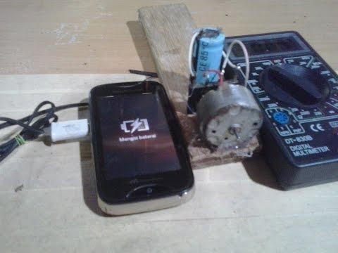tanpa listrik PLN masih bisa charger ponsel. Bgini caraya!!!