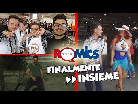 ROMICS 2017- RIMORCHIARE COSPLAYER-BLOCCATI IN FIERA-