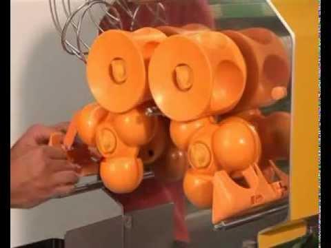 Presse Oranges  Zumex Speed Self Service Podium