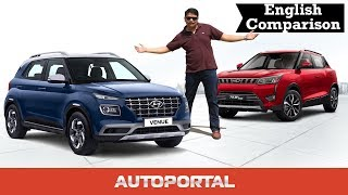Hyundai Venue vs Mahindra XUV300 Comparison – Autoportal