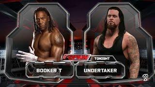 Video Booker T  vs The Undertaker  2k15 download MP3, 3GP, MP4, WEBM, AVI, FLV Oktober 2018