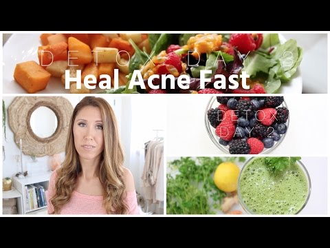 What I Eat To Heal Acne Fast