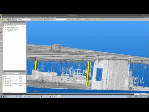 How to Create 3D Models from 3D Point Clouds Using Trimble RealWorks