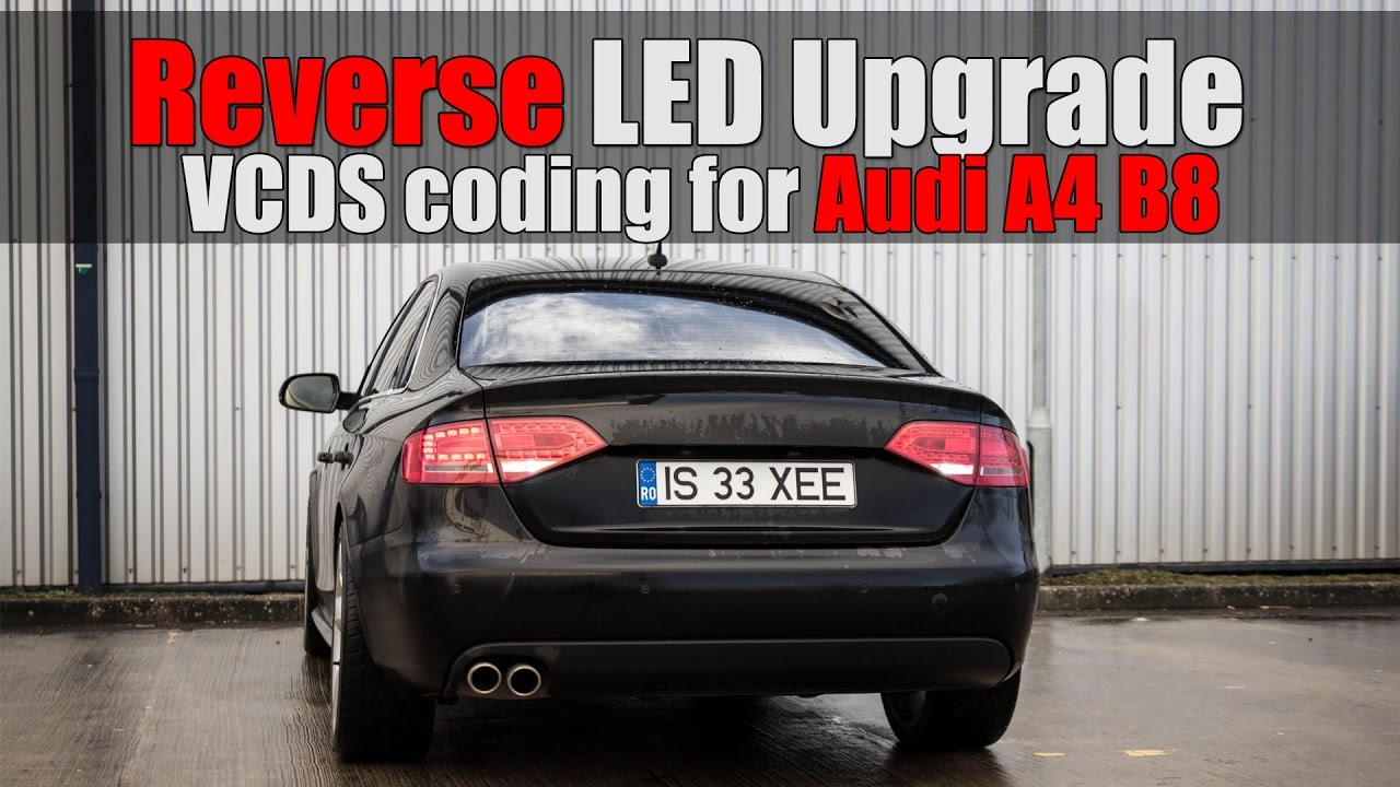audi a4 b8 vcds mod 9 reverse led no bulb warning. Black Bedroom Furniture Sets. Home Design Ideas
