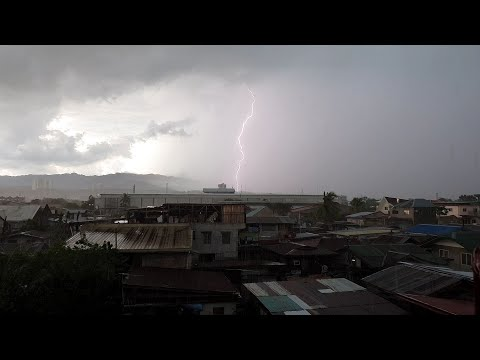 Thunderstorm In Mandaue City , Cebu.
