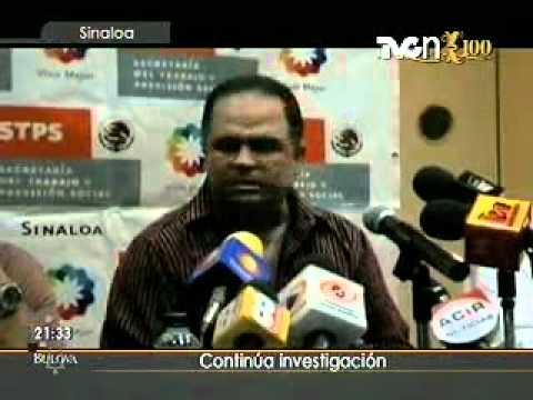 Continúa Investigación Incendio Culiacán