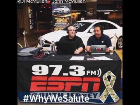 John McMullen talks LeGarrette Blount weight loss bonus, NFL competition Parody and more