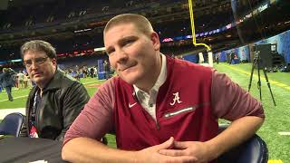 Tosh Lupoi on prep without Pruitt, coordinator job at Alabama