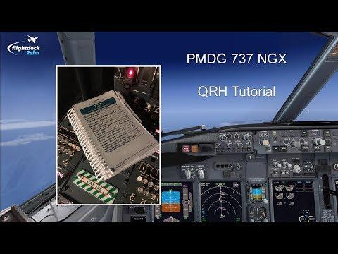 PMDG 737 NGX - REAL BOEING PILOT - Quick Reference Handbook (QRH)