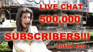 500,000 Subscribers!!! Giselle en un chat en vivo para celebrar!!!