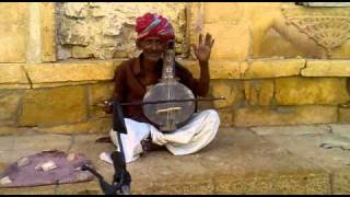 Welcome song at Golden Fort, Jaisalmer, Rajasthan, India