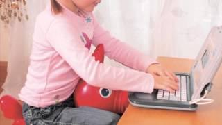 Jak zdrowo/prawidłowo siedzieć? Kilka pomysłów dla dzieci w wieku szkolnym...