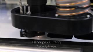 Découpe laser sur PMMA - PMMA laser cutting
