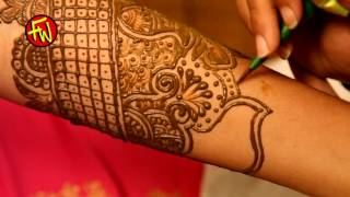 simple stylish easy mehndi henna design for hands