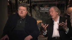 Robbie Coltrane And Michael Gambon On Harry Potter And The Deathly Hallows: Part One