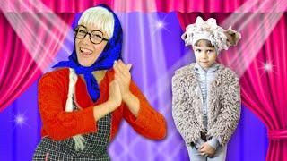 Жил был у Бабушки Серенький Козлик | Песни для детей | Сборник 10 мин Чух Чух ТВ