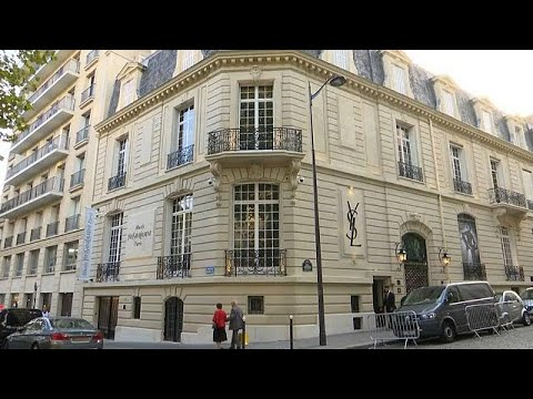 Yves Saint Laurent's Paris atelier opens up to public