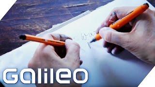 Die Synchron-Zeichnerin | Galileo Lunch Break