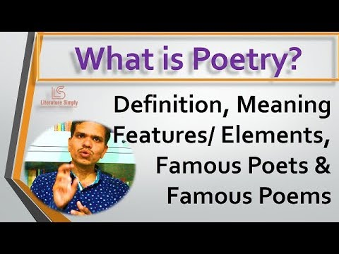 What is Poetry? | #DefinitionMeaning&Features