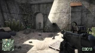 Battlefield Bad Company 2 PC gameplay - MAX setting Ultra HD quality