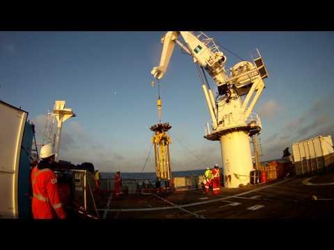 PanGeo Subsea Acoustic Corer™ Deck Launch
