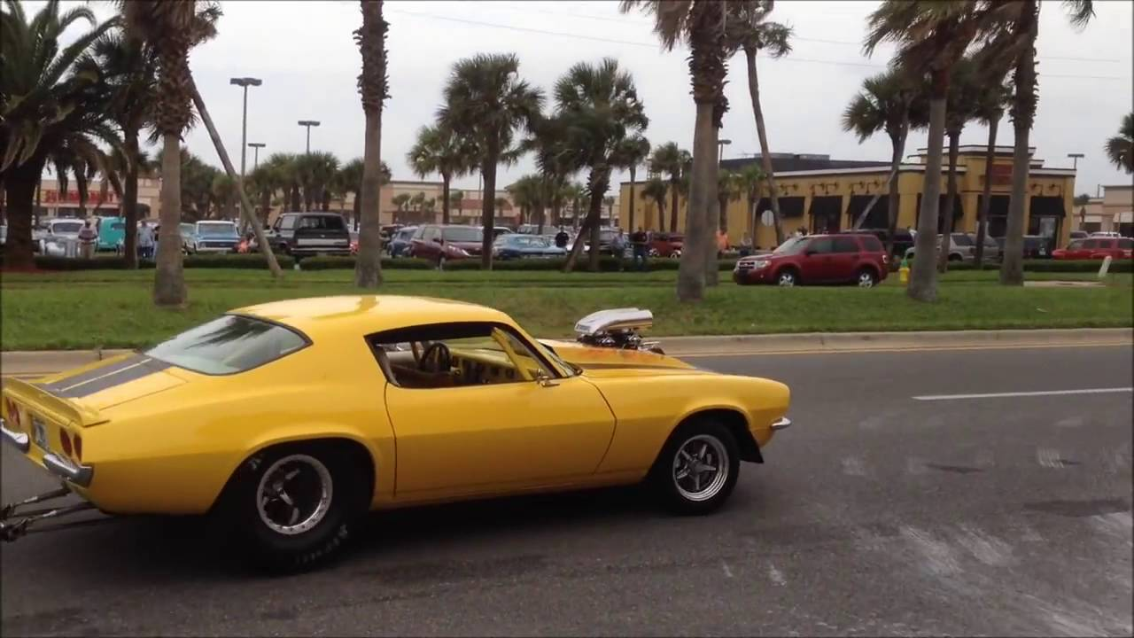 Classic Muscle Cars Leaving Car Show Burnouts Peel Outs Youtube