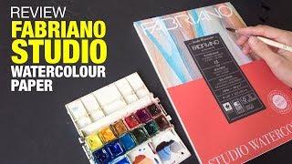 Fabriano Studio Watercolour Paper Review